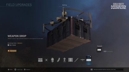 Weapon Drop Field Upgrade