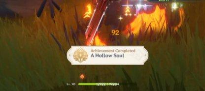 Unlocks A Hollow Soul Achievement