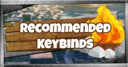 Recommended PC Keybinds for Beginners and Pros