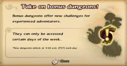 High Difficulty / Bonus Dungeons List
