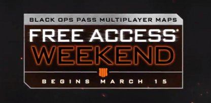 Play All MP DLC Maps With Double XP on All Modes!