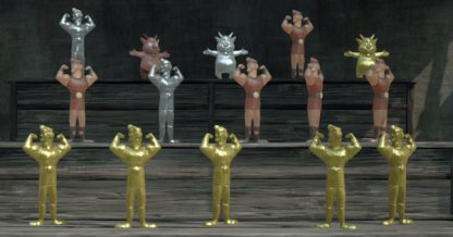 All Golden Hercules Doll Location
