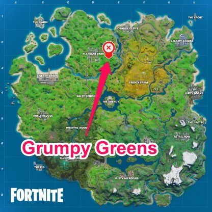 Grumpy Greens Location