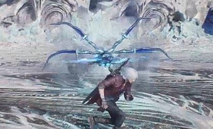 Devil May Cry 5 Vergil Boss Fight Forward Rush Flight Attack