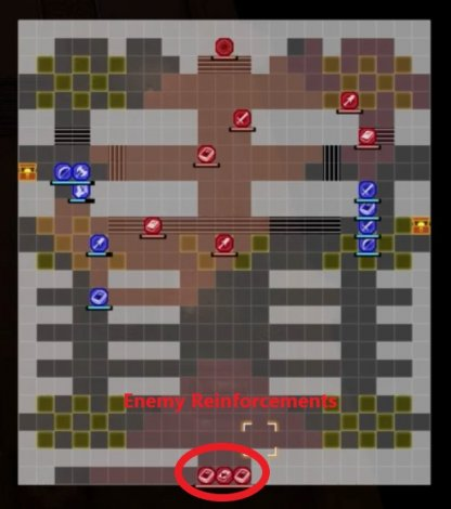 Assault at the Rite of Rebirth Enemy Reinforcement Map