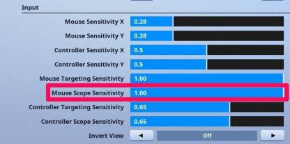 Lower your Mouse Scope Sensitivity