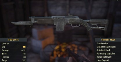 Recoil Compensated Armor Piercing Combat Rifle Image