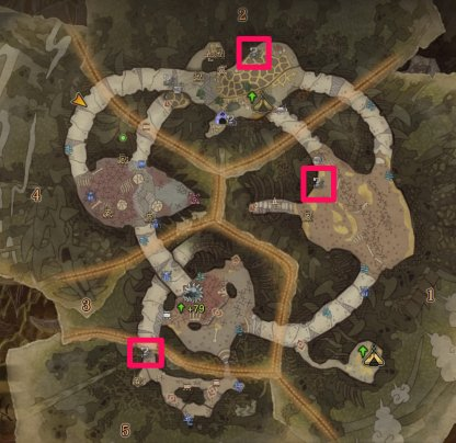 Check Areas 1, 2, & 5 In Rotten Vale For Fossils