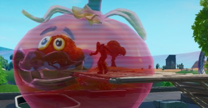Dance Inside A Holographic Tomatohead