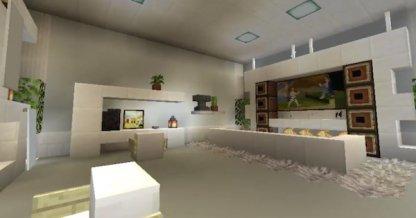 Modern Living Room Almond Goo