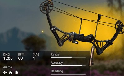 Far Cry New Dawn Lucky Shot Compound Bow