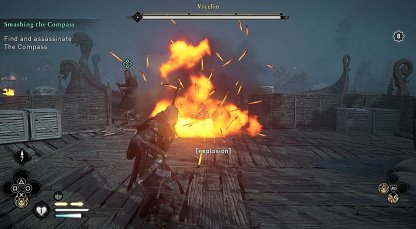 Shoot Red Barrels Around The Arena