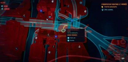 Cyberpsycho Sighting: Lt. Mower