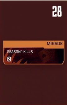 Mirage Stat Tracker