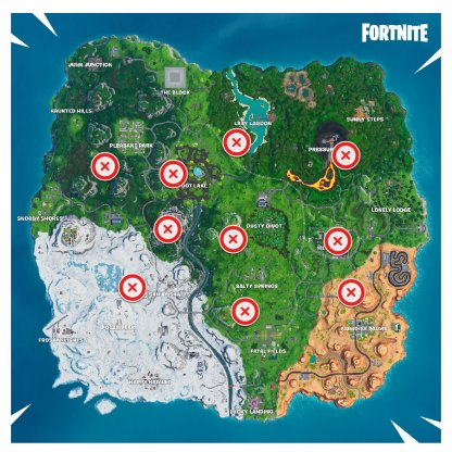 Volcano VeAir Vent Locationsnt Locations