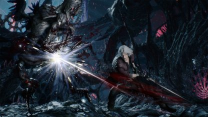 Devil May Cry 5 Dante Weapon Arsenal - Rebellion