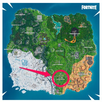 Fatal Fields map