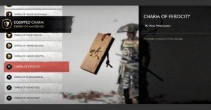 Charm Of Ferocity
