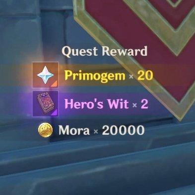 Windbrew Quest Rewards