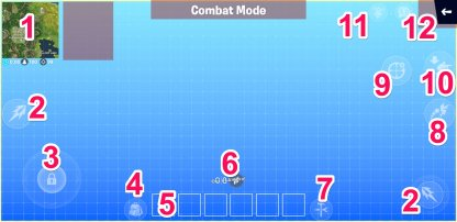 Fortnite Combat Mode HUD