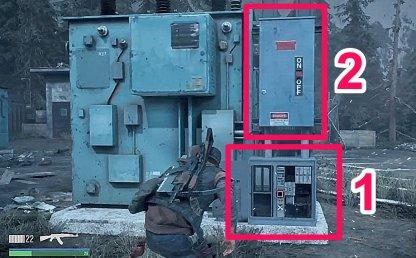 Repair Bottom Box Then Turn On Generator