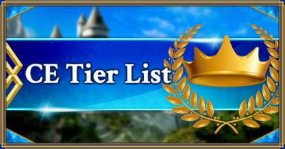 Craft Essence Tier List