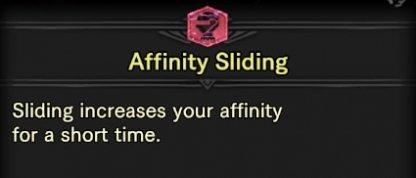 Affinity Sliding