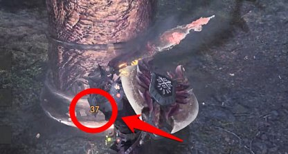 Check Damage By Attacking the Large Pillar
