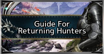 Guide for Returning Players