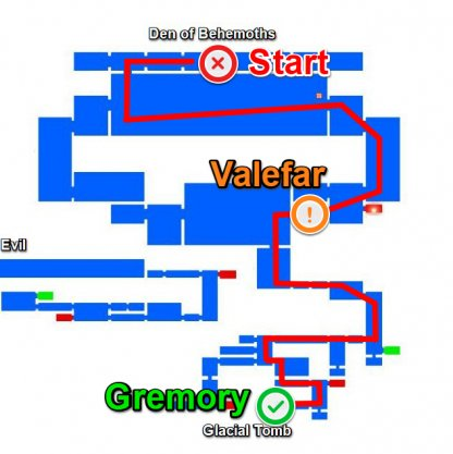 How To Get To Valefar & Gremory