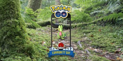Pokemon GO March Community Day Treecko