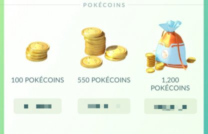 Pokemon Go, How To get Pokecoins & What You Can Buy In The Shop