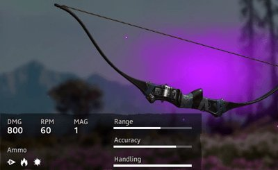 Far Cry New Dawn Optimized Recurve Bow
