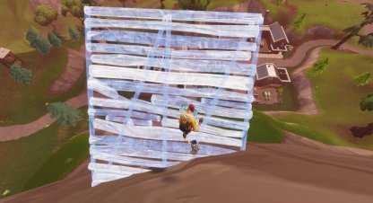 Create 5 Ramp Structure then Jump
