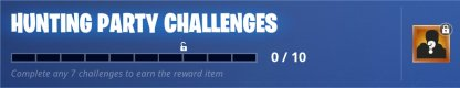 Hunting Party Challenges