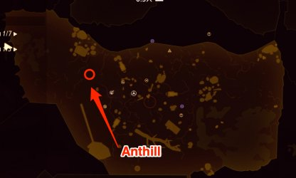 Anthill map