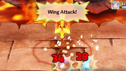 Wing Attack Hits Multiple Targets