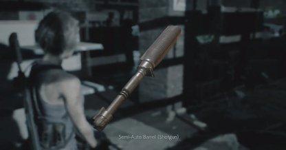 Semi-auto barrel