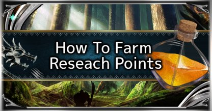 Research Point Guide - How To Research Points Fast
