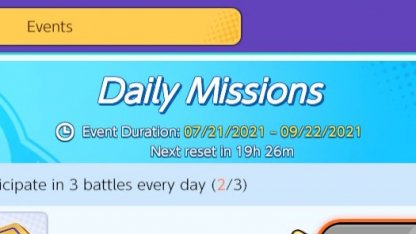 Daily Reset Timer