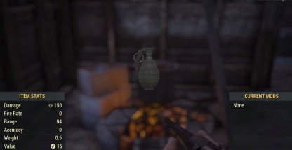 Fragmentation Grenade Image