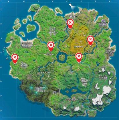 Gas Pumps locations
