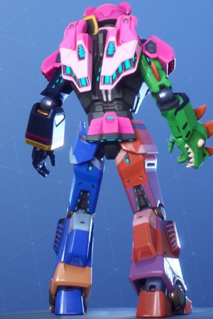 MECHA TEAM LEADER Back