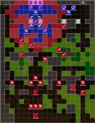 Protecting Garreg Mach Battle Map - Start
