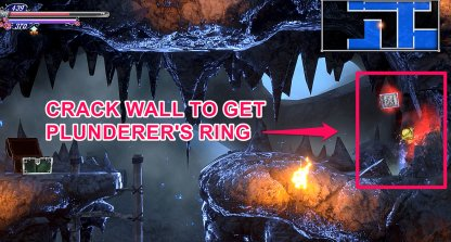 Crack Wall To Get Plunderer