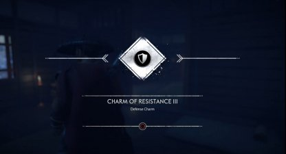 Receive Charm of Resistance III