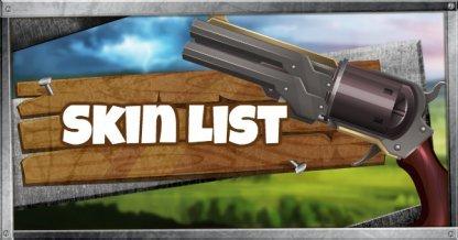 Skin List & Today