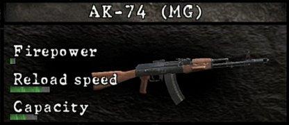 AK-74 MG