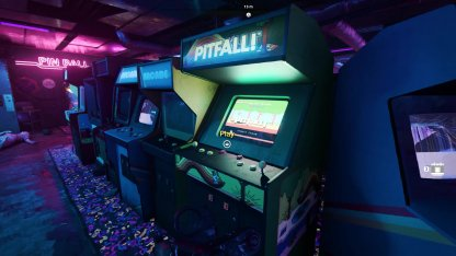 Minigame - Pitfall In The Arcade