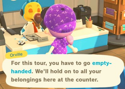 Cannot Carry Your Items To May Day Tour